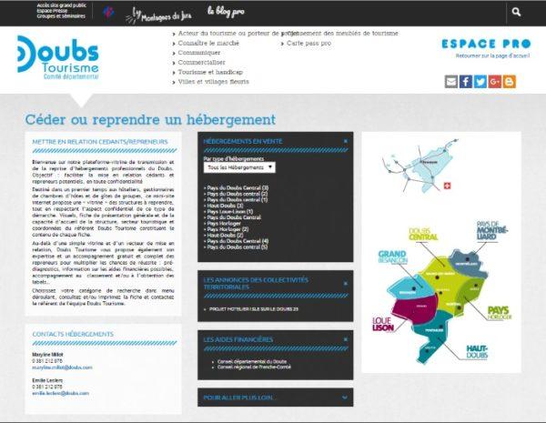 transmission-reprise d'hébergements touristiques : connecter l'offre et la demande