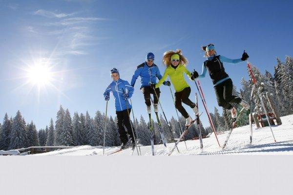 ski nordique dans le massif du Jura